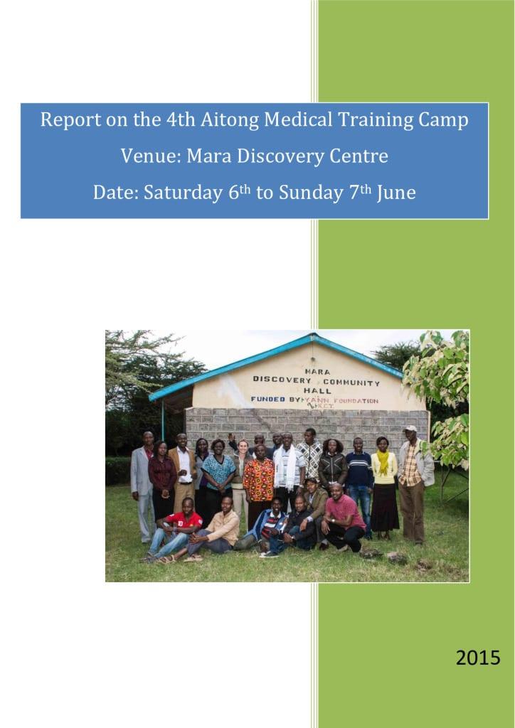 thumbnail of 4th Aitong Medical Camp Report